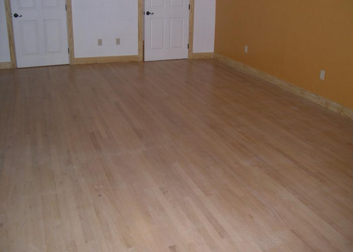 custom hardwood flooring installation