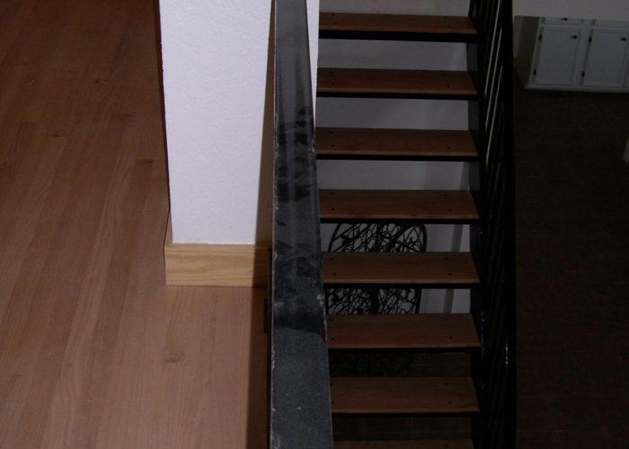 wood floor install