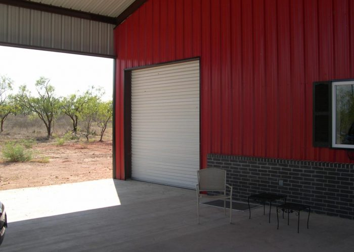 texas built barndominium