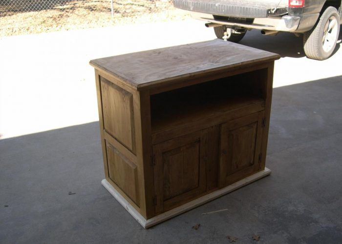 homemade cabinet furniture