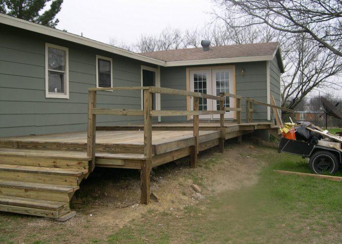 custom deck build