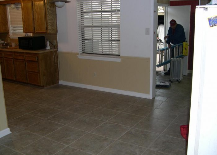 custom tile floor installation abilene