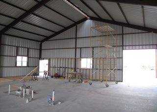 build barndominium in texas