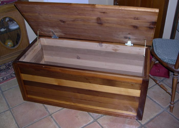 handmade furniture blanket chest