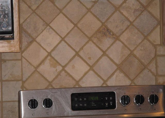 custom tile backspash in abilene tx kitchen