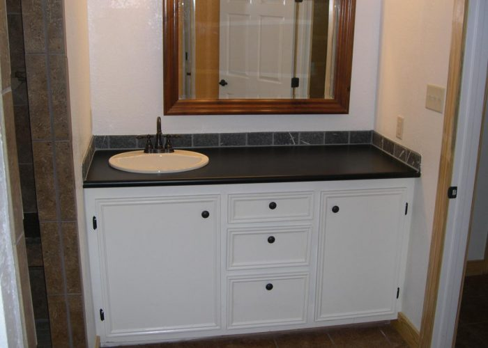 custom bathroom cabinets - bathroom renovation