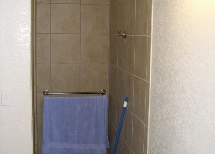 shower surround - bathroom renovation