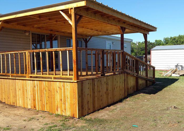 custom deck and covering coleman tx