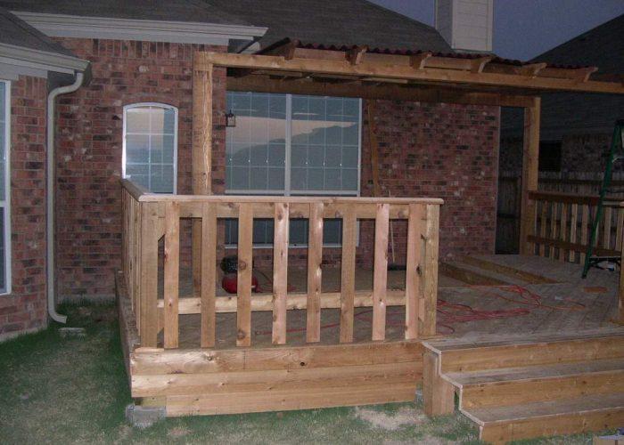 building a wood deck abilene tx
