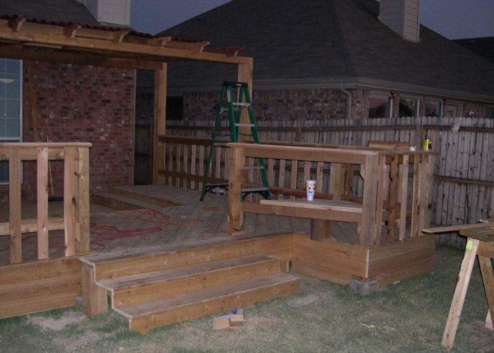 abilene tx building a wood deck