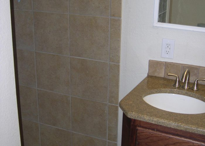 bathroom tiling installation