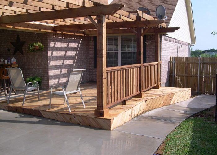 pergola covering for a deck and porch