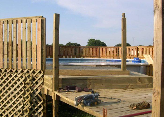 deck cover for pool in abilene