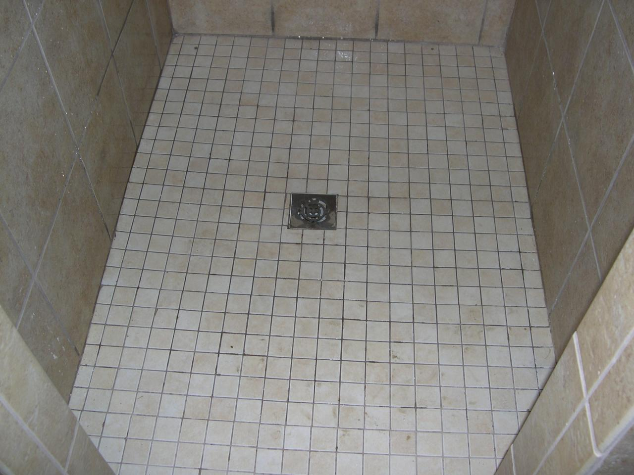 Retile-shower-floor