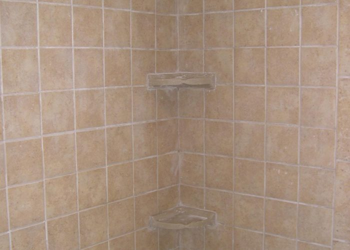 shower tile surround - bathroom remodel