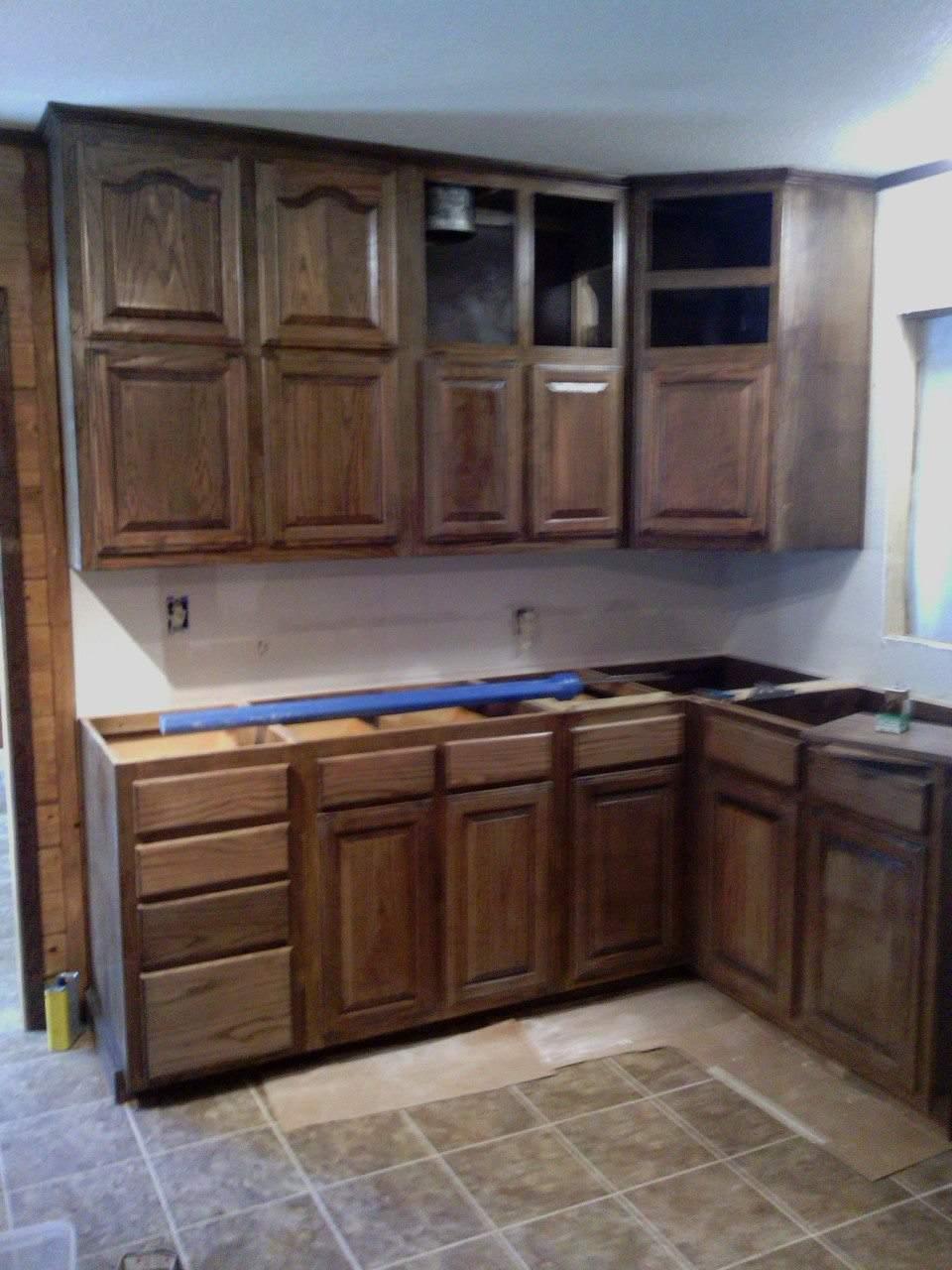 Oak Kitchen cabinets